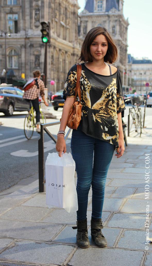Femme Dans La Rue Fashion Xeek
