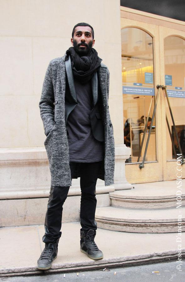 Un style casual chic à rue de Provence, Paris