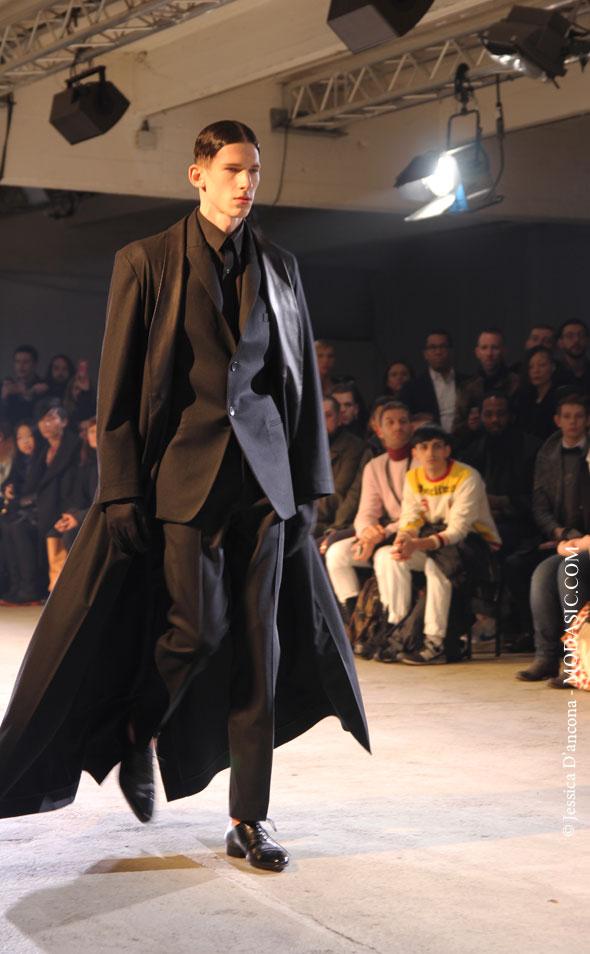 Défilé Qasimi Homme 2013-2014, Paris - Modasic