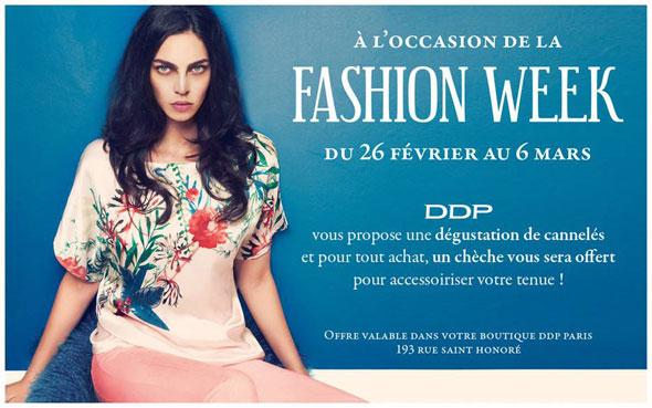 CONCOURS - La Fashion Week DDP - Modasic
