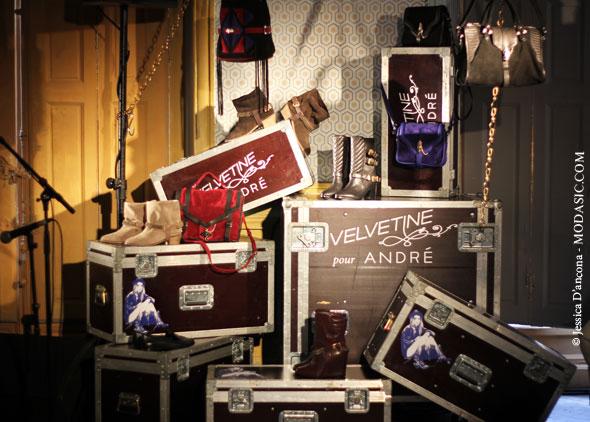 Velvetine x André - Modasic