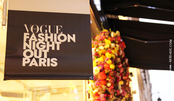 La Vogue Fashion Night Out - Modasic