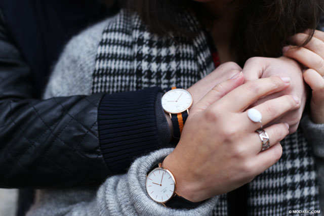 Daniel Wellington with love - Modasic