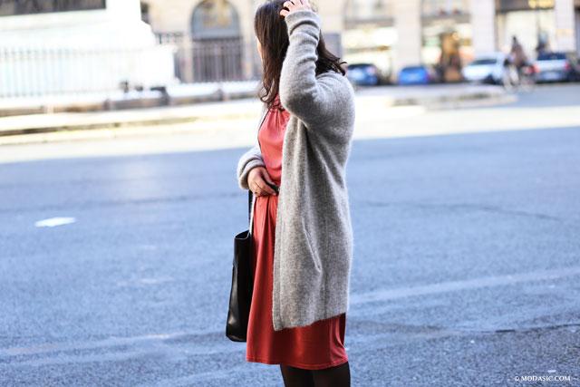 la robe longue boohoo - Modasic