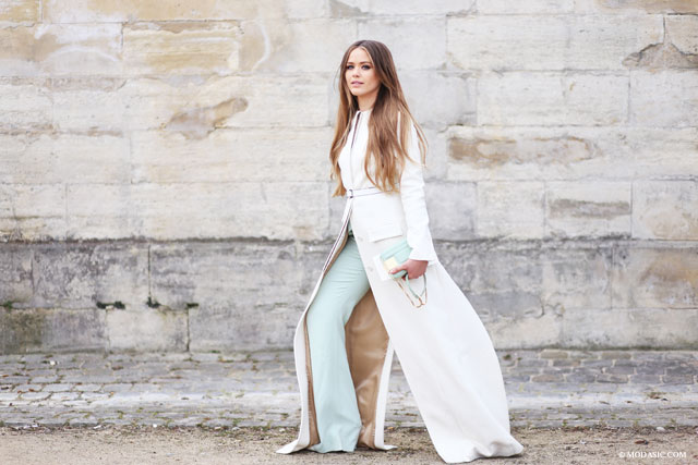 Kristina Bazan, Paris - Modasic