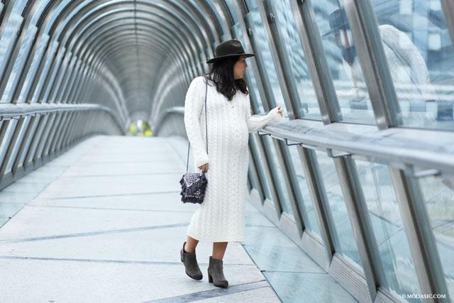 La robe pull - Modasic