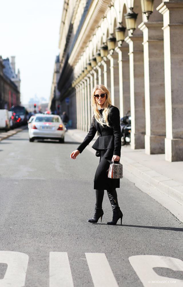 Streetstyle paris - Modasic