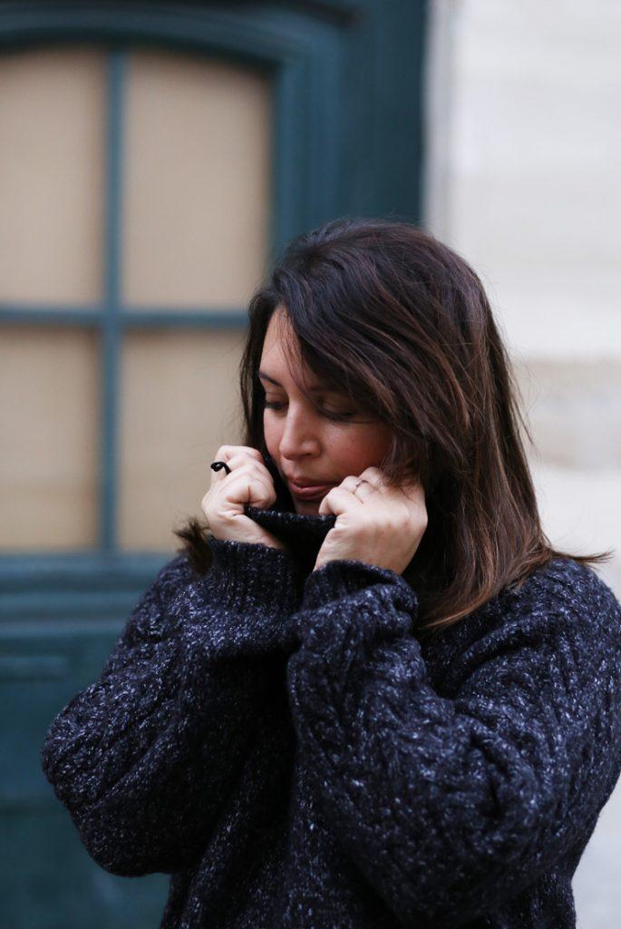 pull xxl et jupe irisée - Modasic