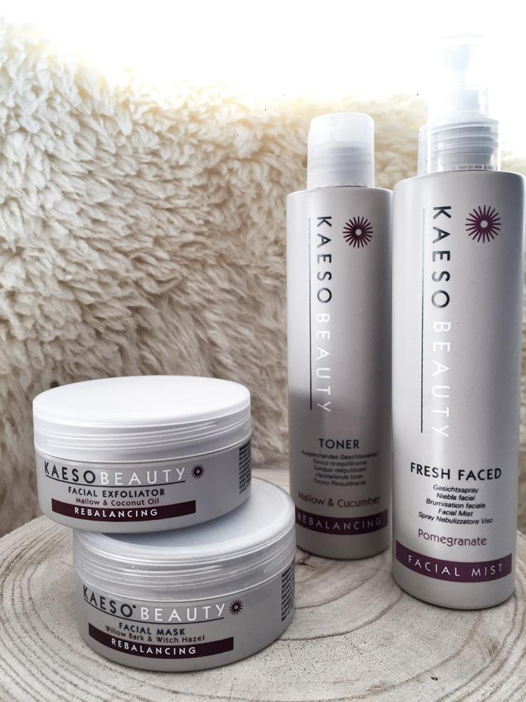 Kaeso : routine de soin visage - Modasic