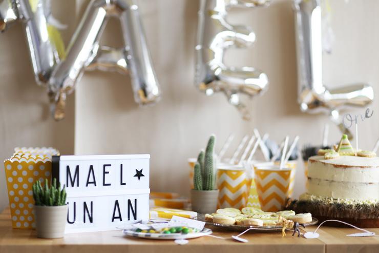 Le premier anniversaire de Mael - Modasic