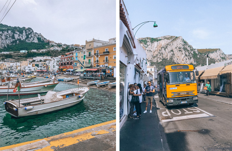 L'île italienne Capri, italie - Modasic